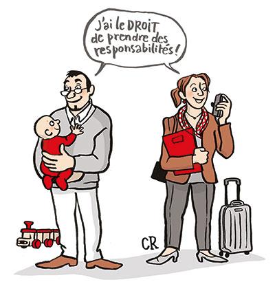 Allongement du congé paternité : une première avancée !