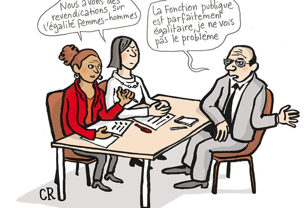 L'intersyndicale Fonction Publique exige la revalorisation des carrières à prédominance féminine