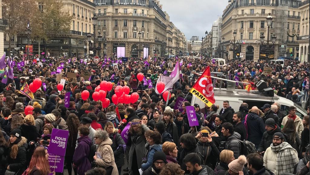 23 novembre 2019 contre les violences sexistes et sexuelles : Une marche historique en images !