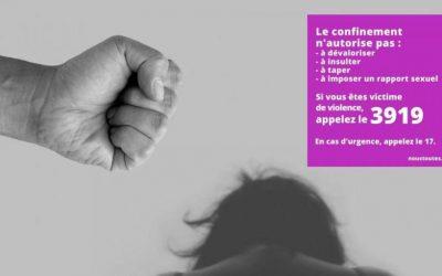 Les violences conjugales et intrafamiliales au temps du confinement : une urgence syndicale !