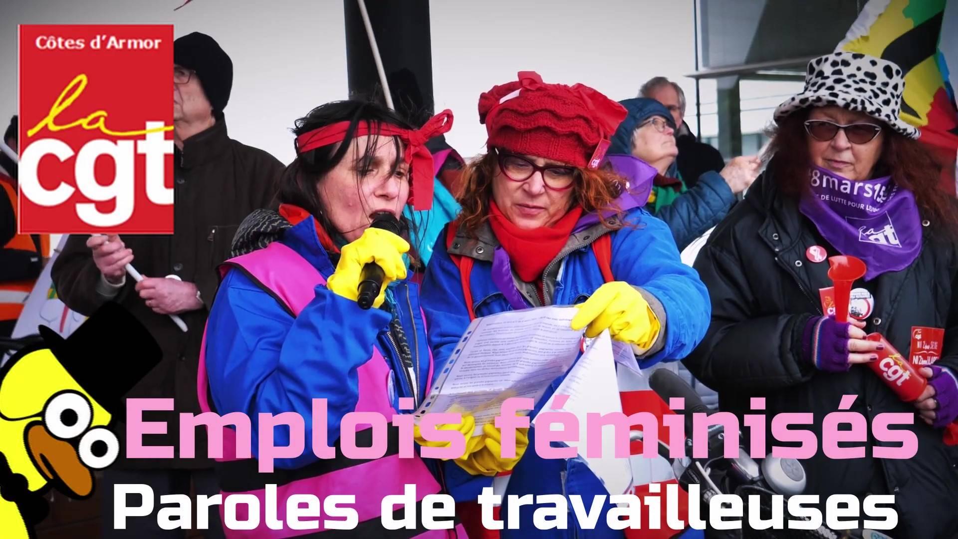 Reportage – Emplois féminisés : Paroles de travailleuses dans les Côtes d'Armor