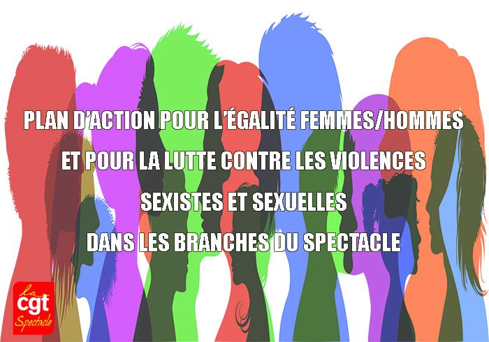 LANCEMENT DU PLAN D'ACTION POUR L'ÉGALITÉ FEMMES/HOMMES ET POUR LA LUTTE CONTRE LES VIOLENCES SEXISTES ET SEXUELLES DANS LES BRANCHES DU SPECTACLE !