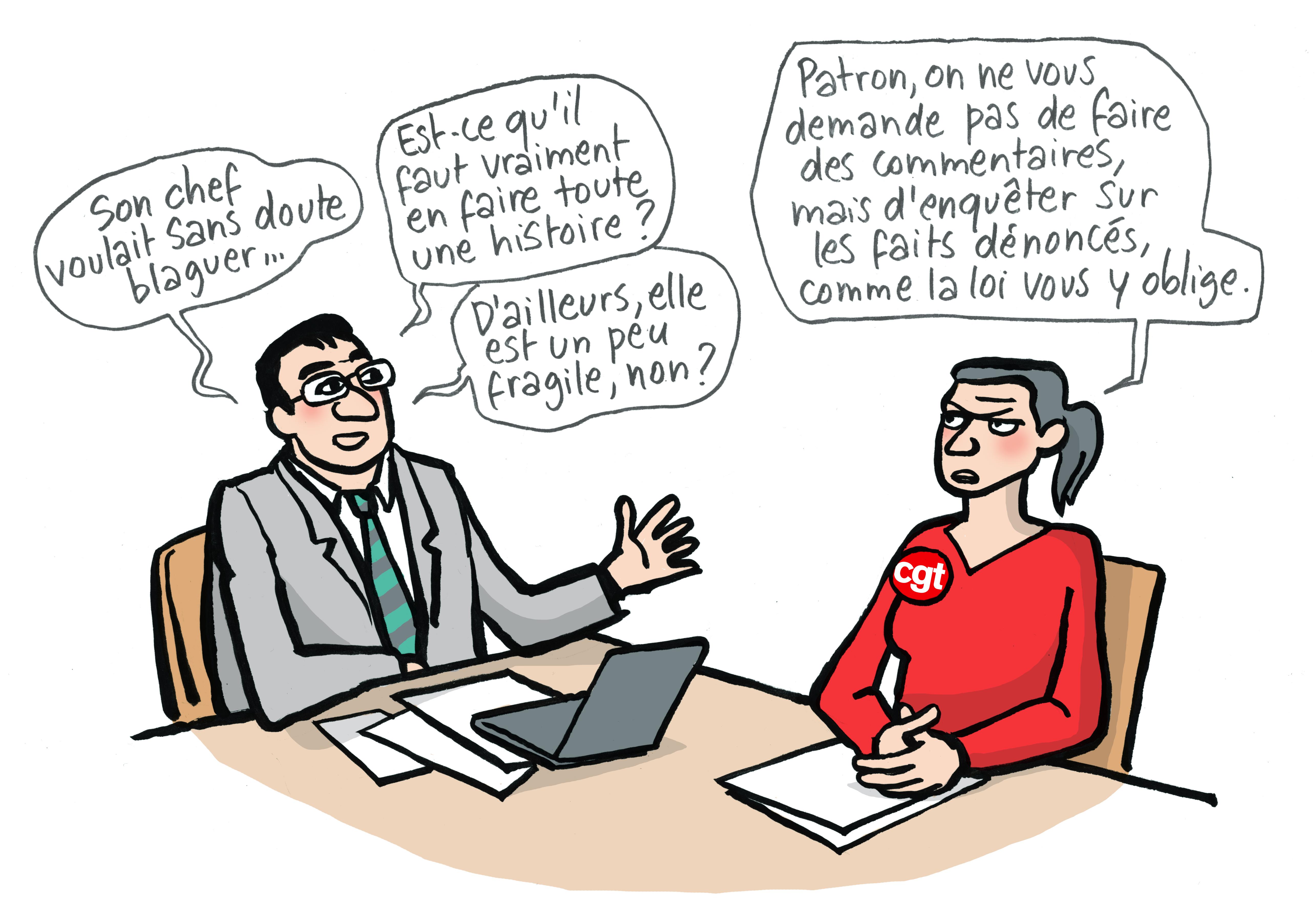 CGT FERC SUP : Après le CHSCT de la honte qui a révélé l'hypocrisie et les stéréotypes sexistes de la gouvernance de l'ENS Lyon, c'est la détresse des étudiant.es qui explose.