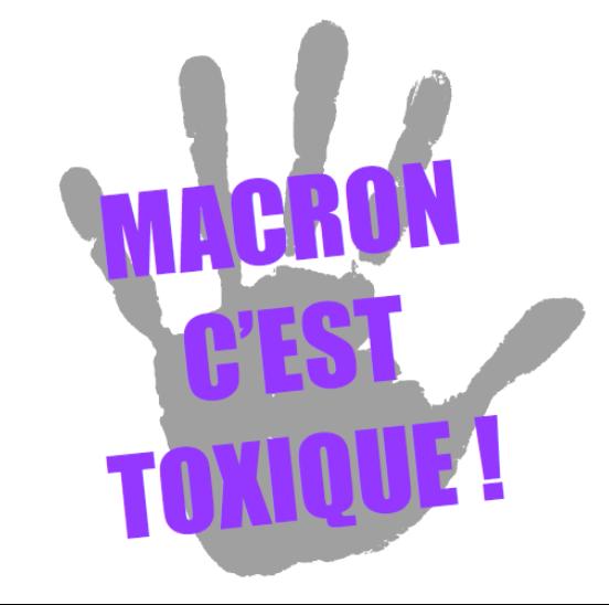 Les violences sexistes et sexuelles, Macron c'est toxique ! [CLIP MILITANT]
