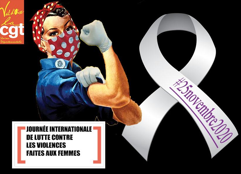 Les 24 et 25 novembre La CGT Val d'Oise dans l'action contre les violences faites aux femmes