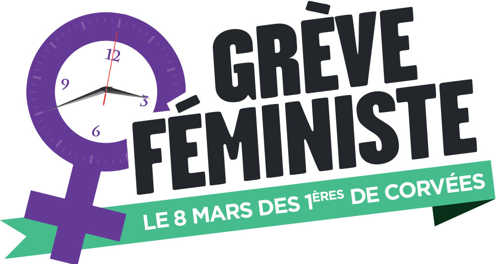 Grève féministe : le 8 mars des premières de corvées
