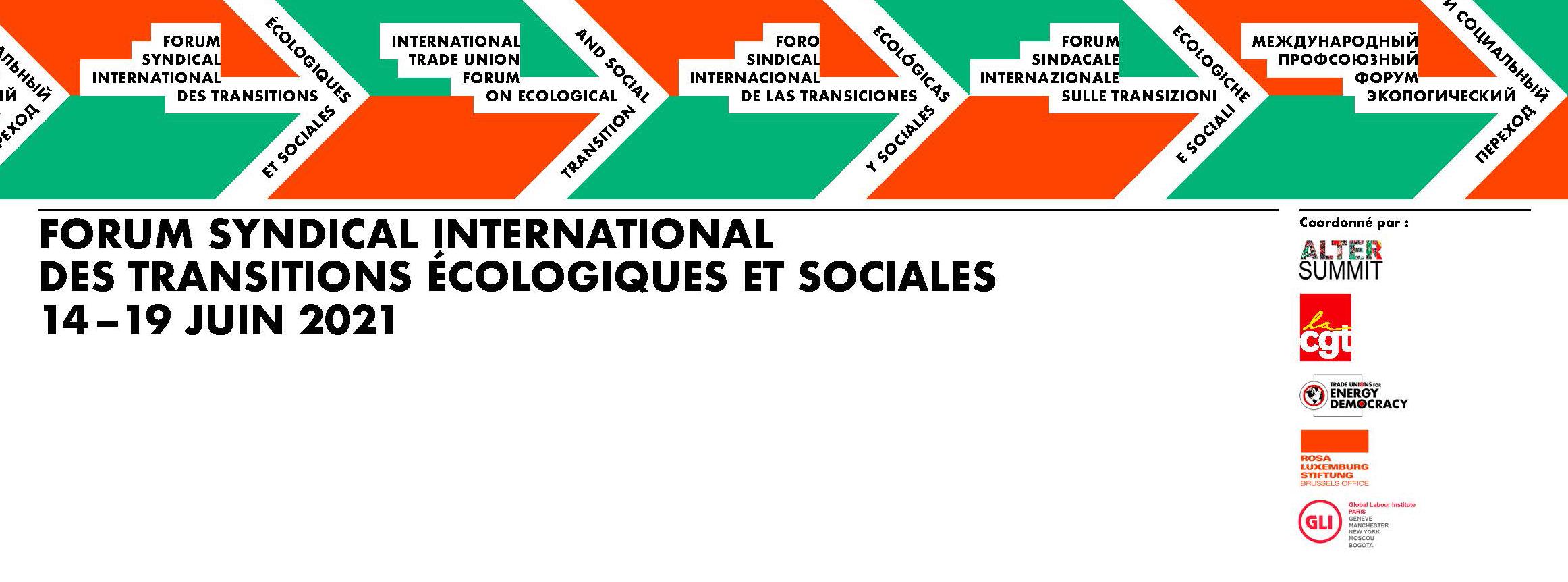 Forum Syndical International des Transitions Ecologiques et Sociales : femmes et climat