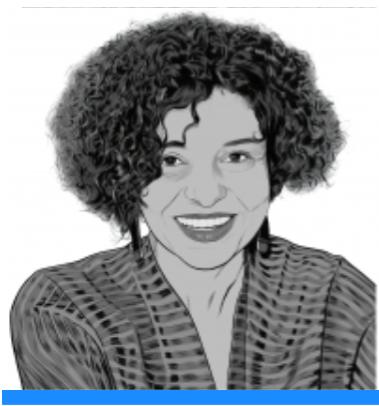 Portrait de Rachel Silvera en dessin