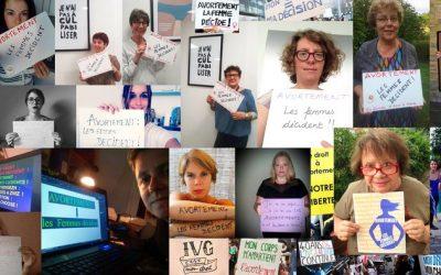 25 septembre manifestons pour le droit a l'avortement